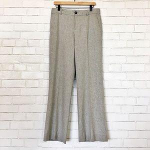 Banana Republic Martin Fit Light Gray Wool Pants